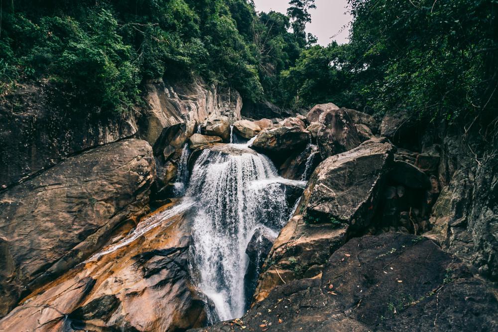 Ba Ho Waterfalls, Ninh Hòa, Vietnam.