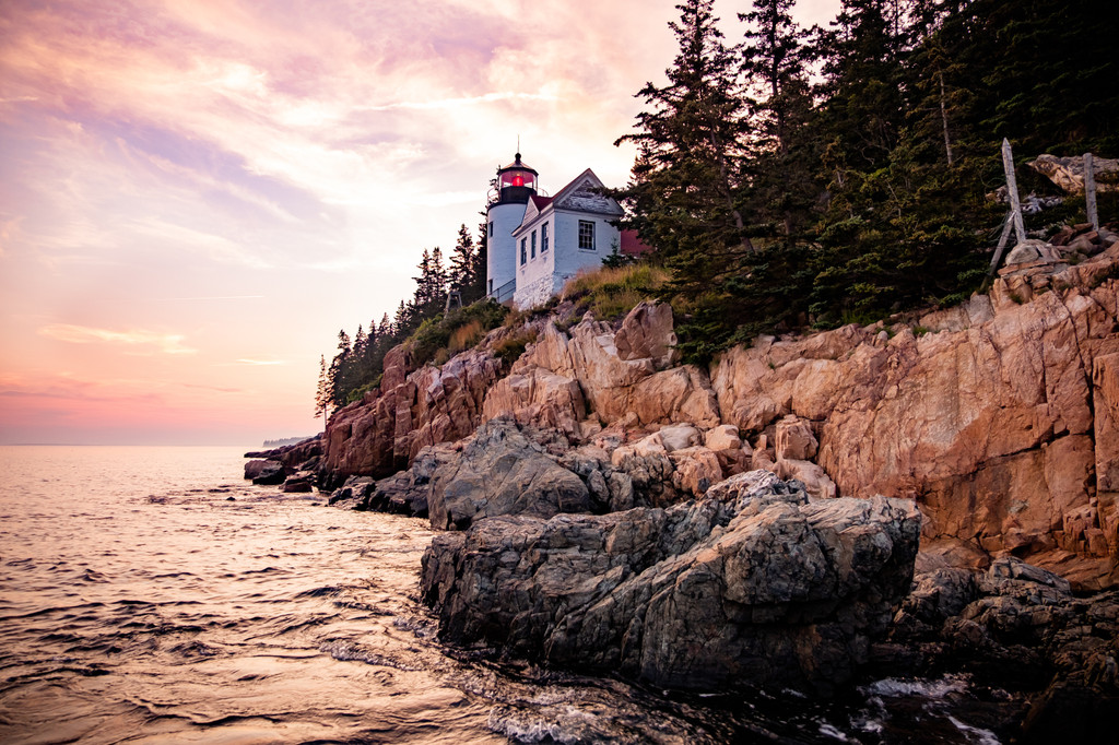 The Bass Harbor Head Lighthouse, Tremont
