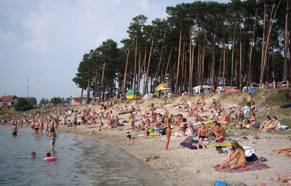 Kryspinów Lake, Krakow, Poland.www.kryspinow.com.pl