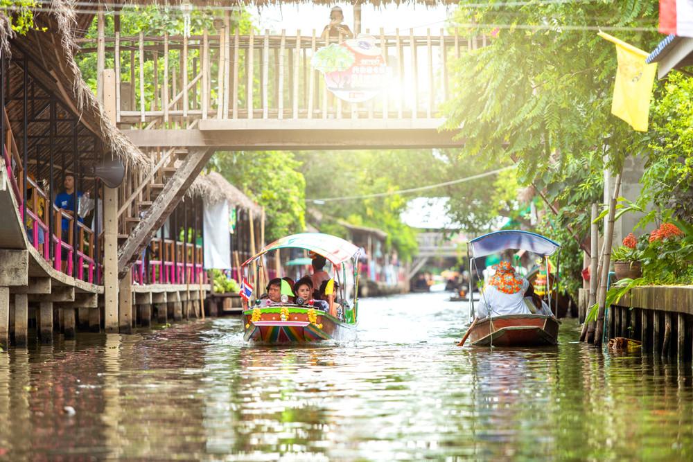 Khlong boat, Bangkok, Thailand. Photo APS/Shutterstock.com