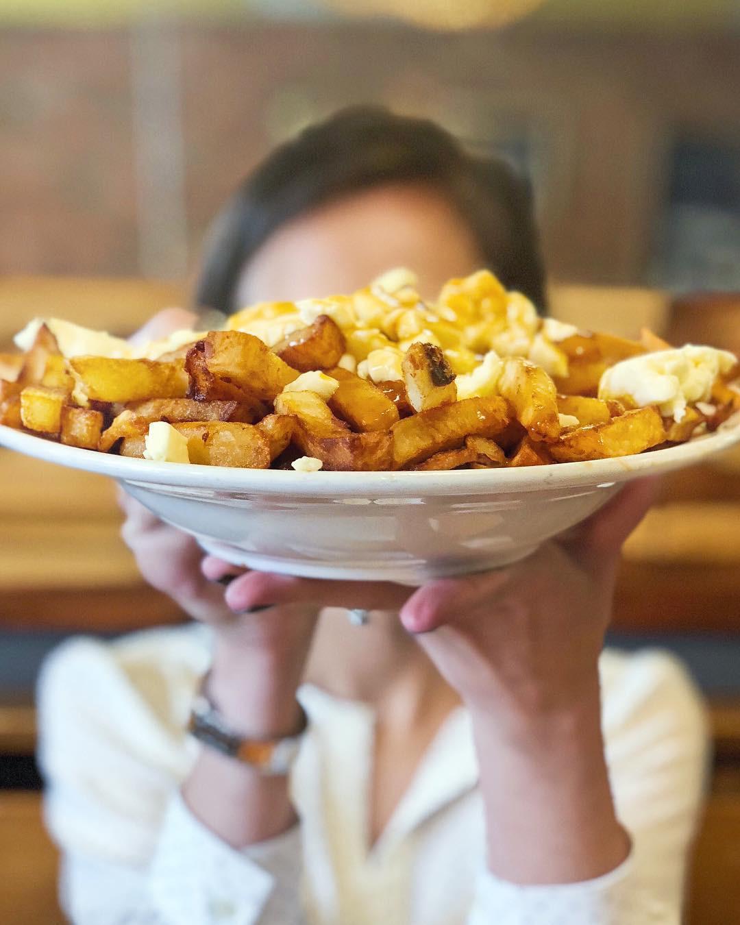 La Banquise, Montréal, Quebec, Canada. instagram.com/foodfacenyc