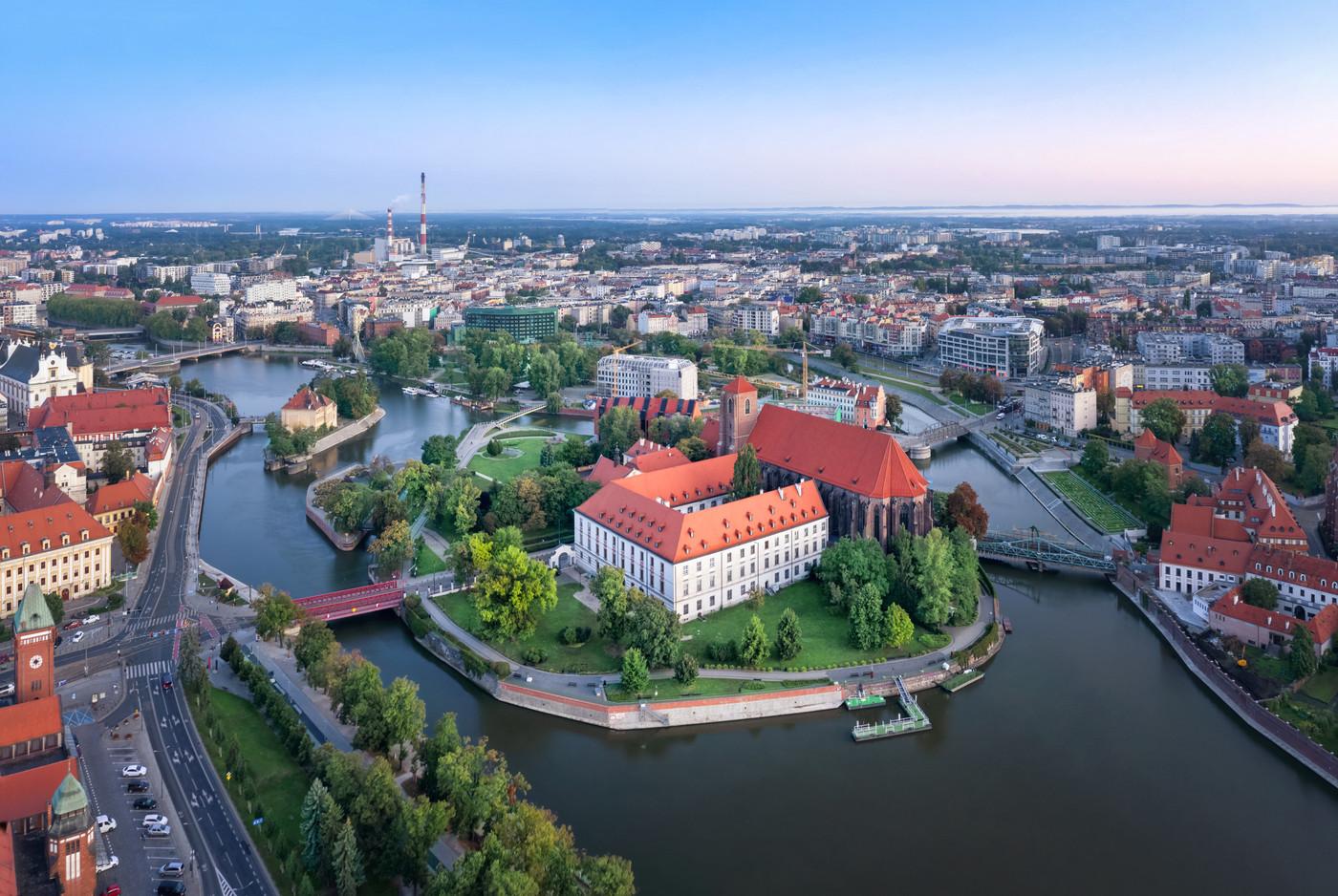 Wyspa Piasek, Wrocław