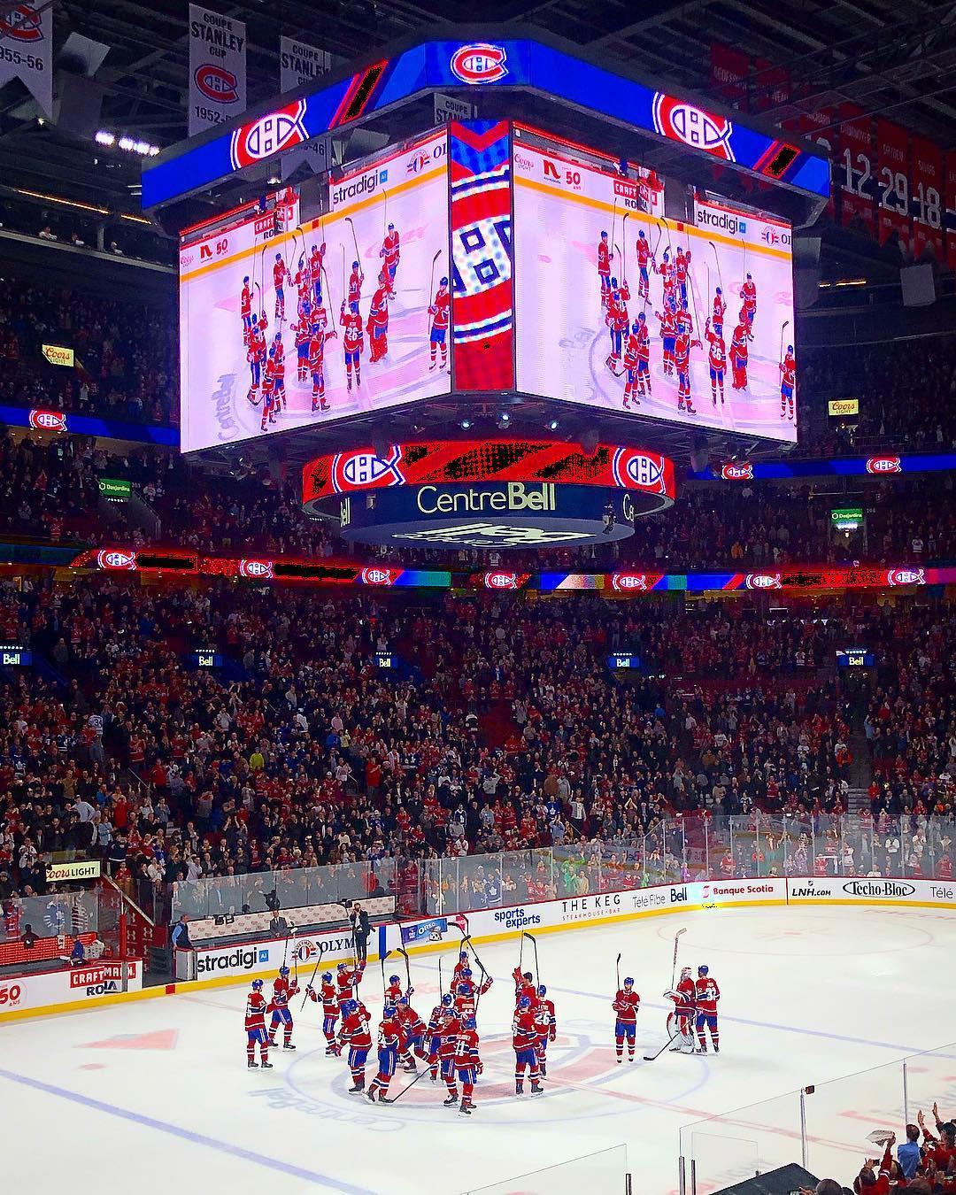 Bell Centre, Montreal, Quebec, Canada. instagram.com/sebbenoit72