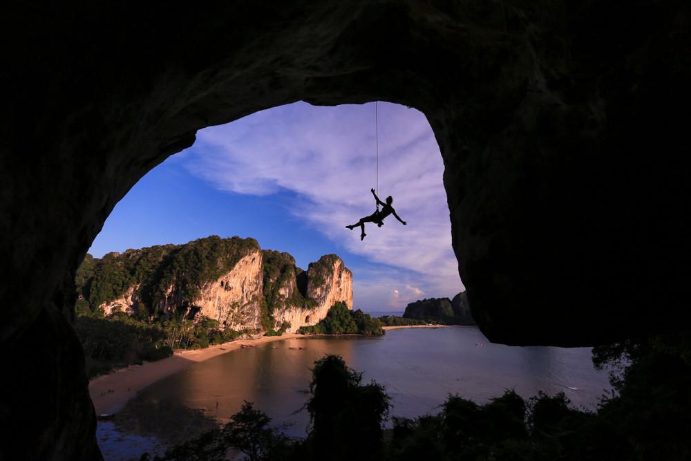 Tonsai, Railay beach, Thailand.
