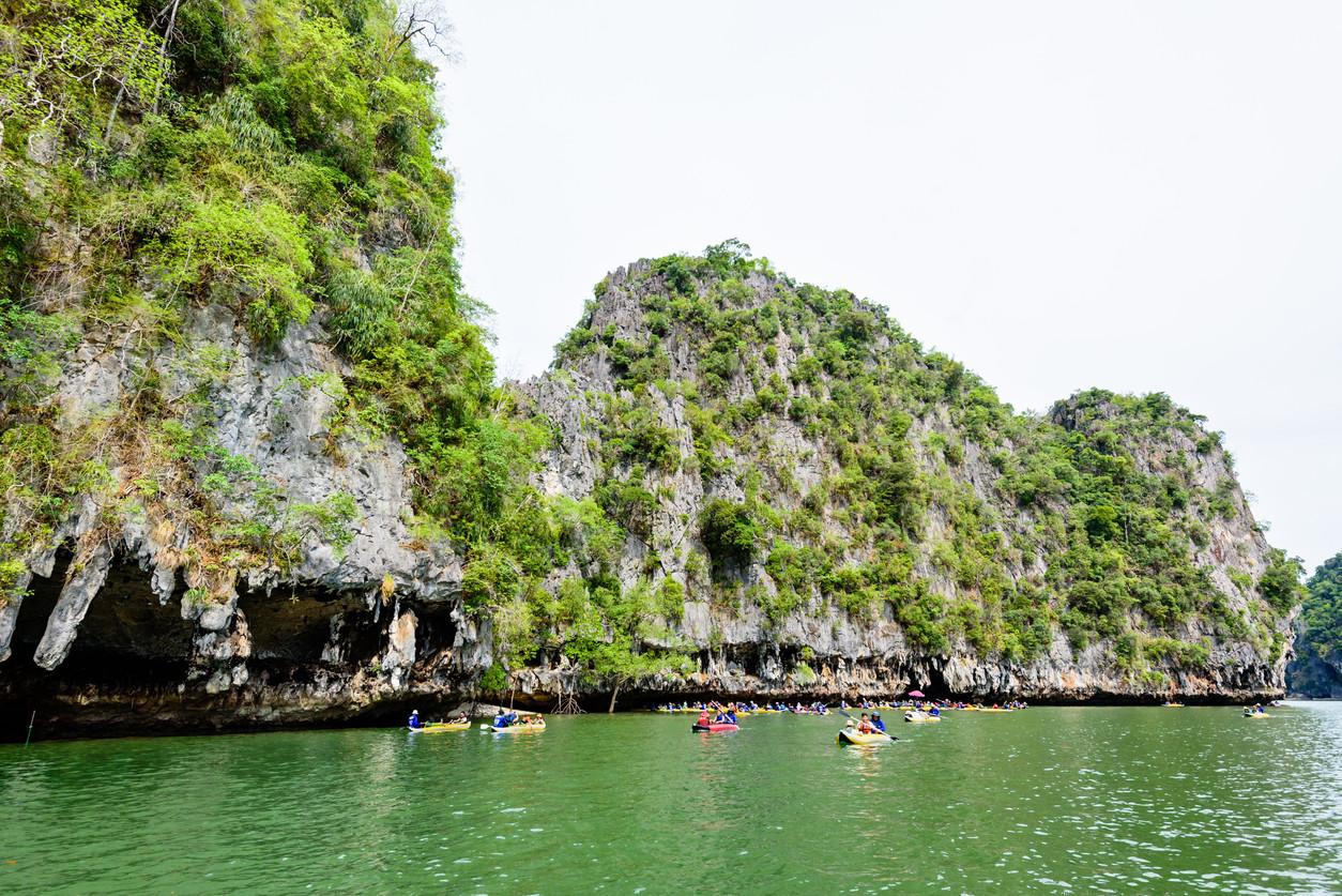 Tham Lod Cave, Pai, Thailand.