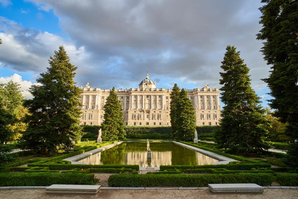 Palacio Real, Madrid, Spain.