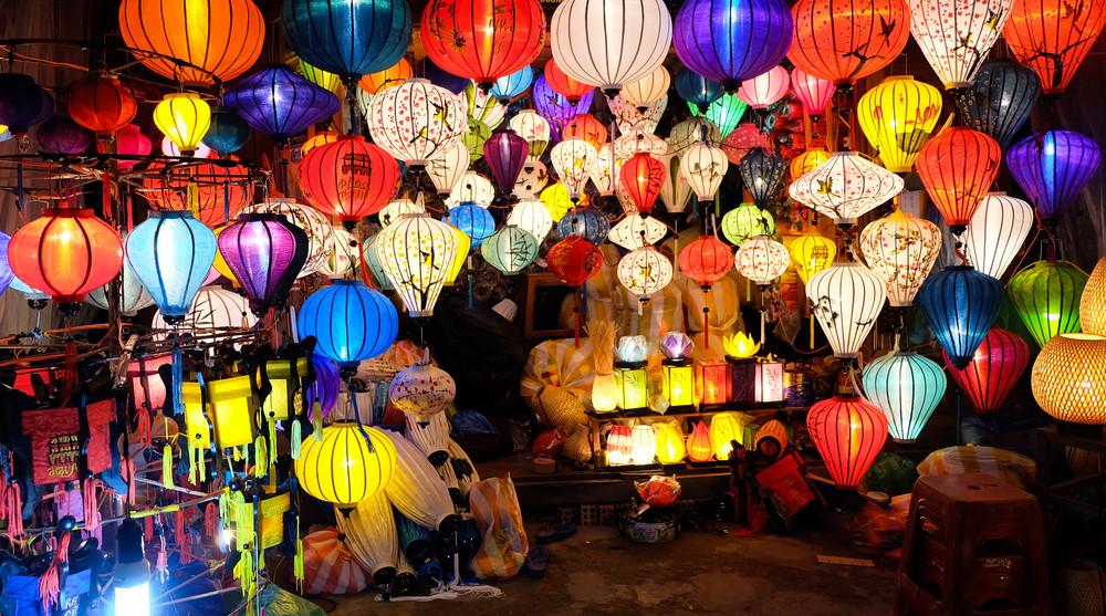 Hoi An night market, Hoi An, Vietnam.