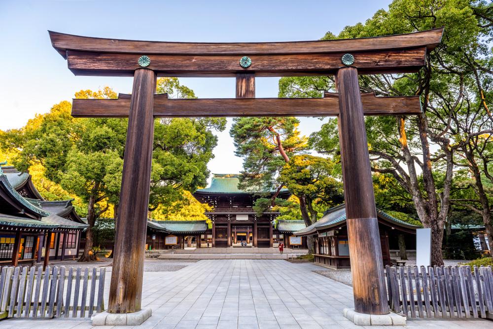 Meiji Jingu Shrine, Tokyo, Japan.
