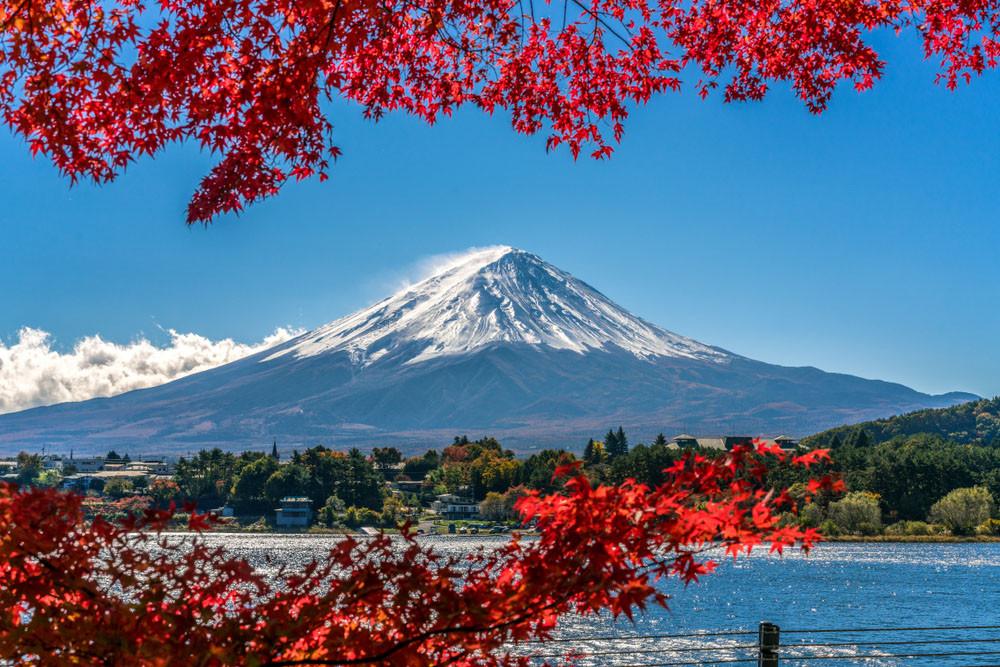 Mt Fuji, Japan.