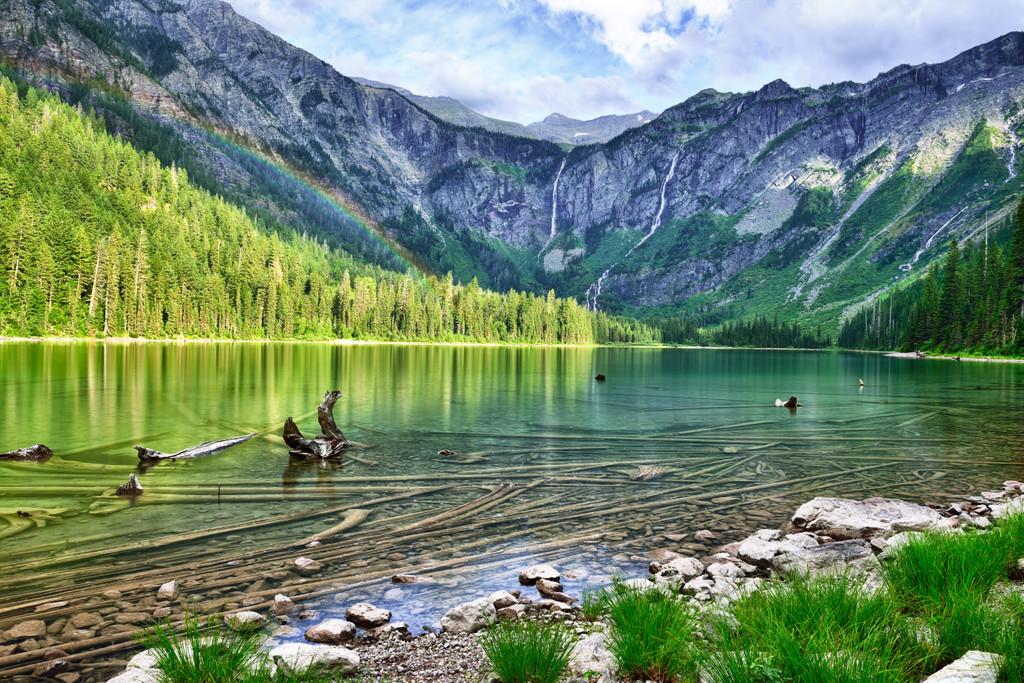 Avalanche Lake, Avalanche