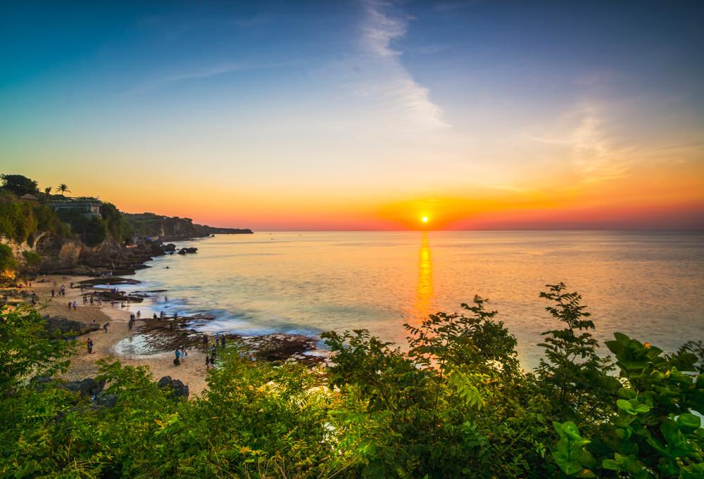 Tegal Wangi Beach, Bali, Indonesia.