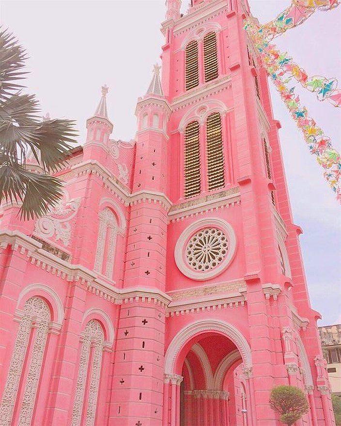 Tan Dinh Church, Ho Chi Minh City, Vietnam. @pinktherestaurant