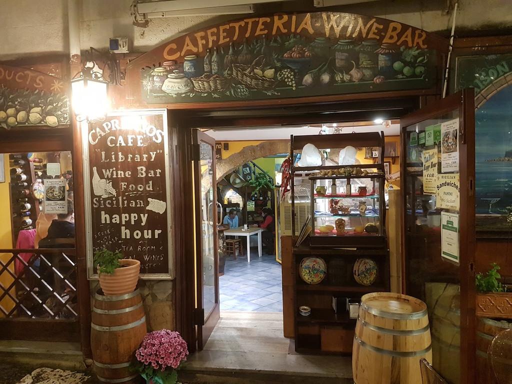 "Capriccio Siciliano ""Sicilian Wine Bar "" Typical Products, Cefalù"