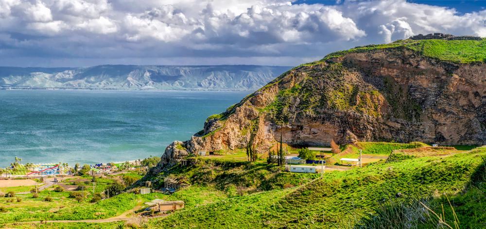Sea of Galilee, Israel.