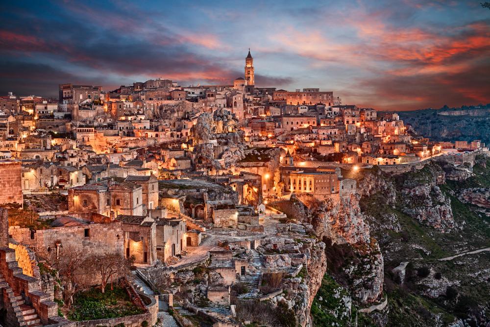 Matera, Italy.