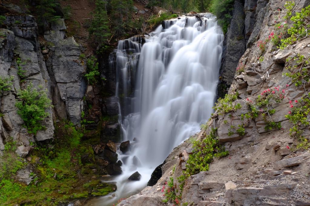 Kings Creek Falls, Creek Falls