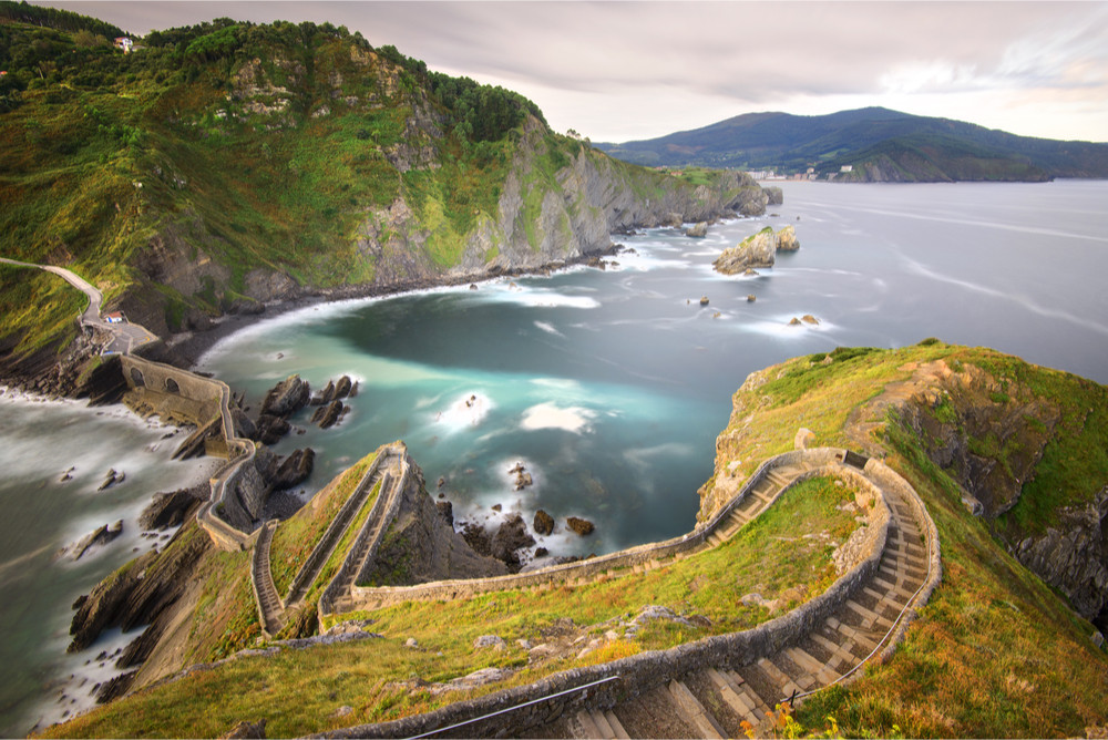 Gaztelugatxe Island, Biscay, Basque Country, Spain.