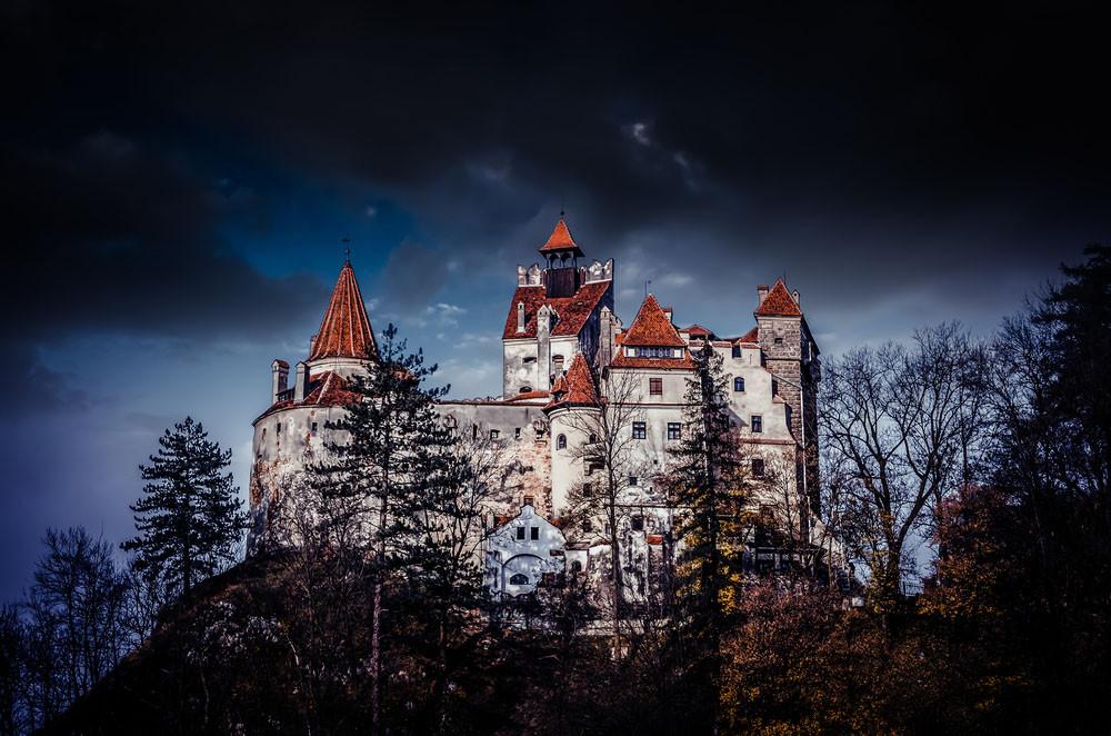 Bran Castle (Castle of Dracula), Transylvania, Romania.