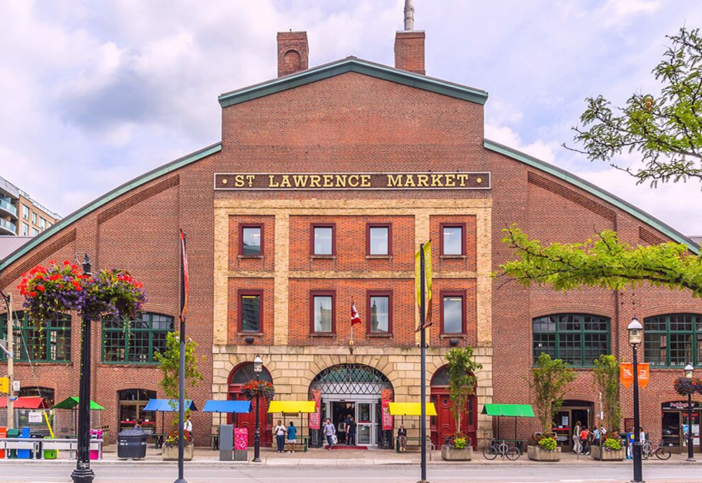 St. Lawrence Market, Toronto, Ontario, Canada.