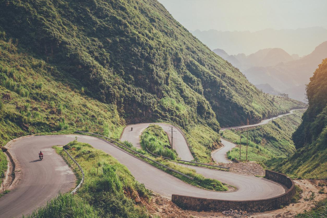 Hai Van Pass, Vietnam.