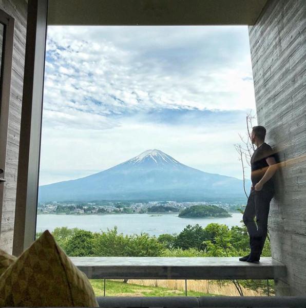 Hoshinoya, Fuji, Japan. Photo by nicolasmonnet