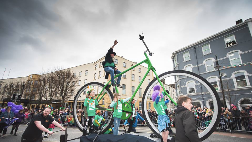 Waterford Parade, Waterford, Ireland. DigiCol Photography & Media Productions via facebook.com/WaterfordStPatricksDayParade