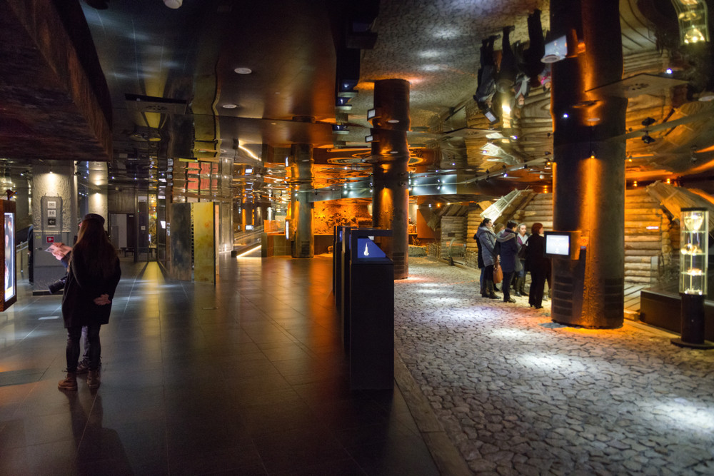 Rynek Underground, Krakow, Poland. Jaroslav Moravcik/Shutterstock.com