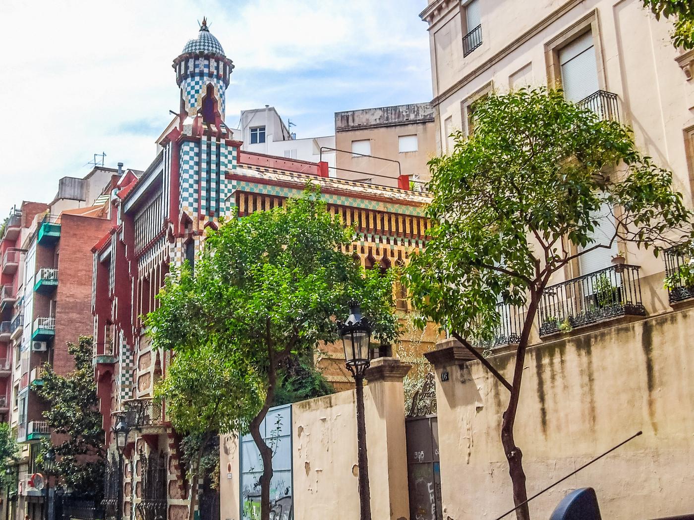 Casa Vicens Gaudí, Barcelona