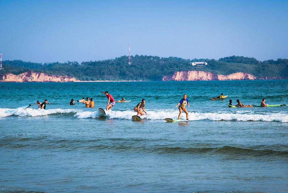 Weligama, Sri Lanka. Aleksandar Todorovic/Shutterstock.com