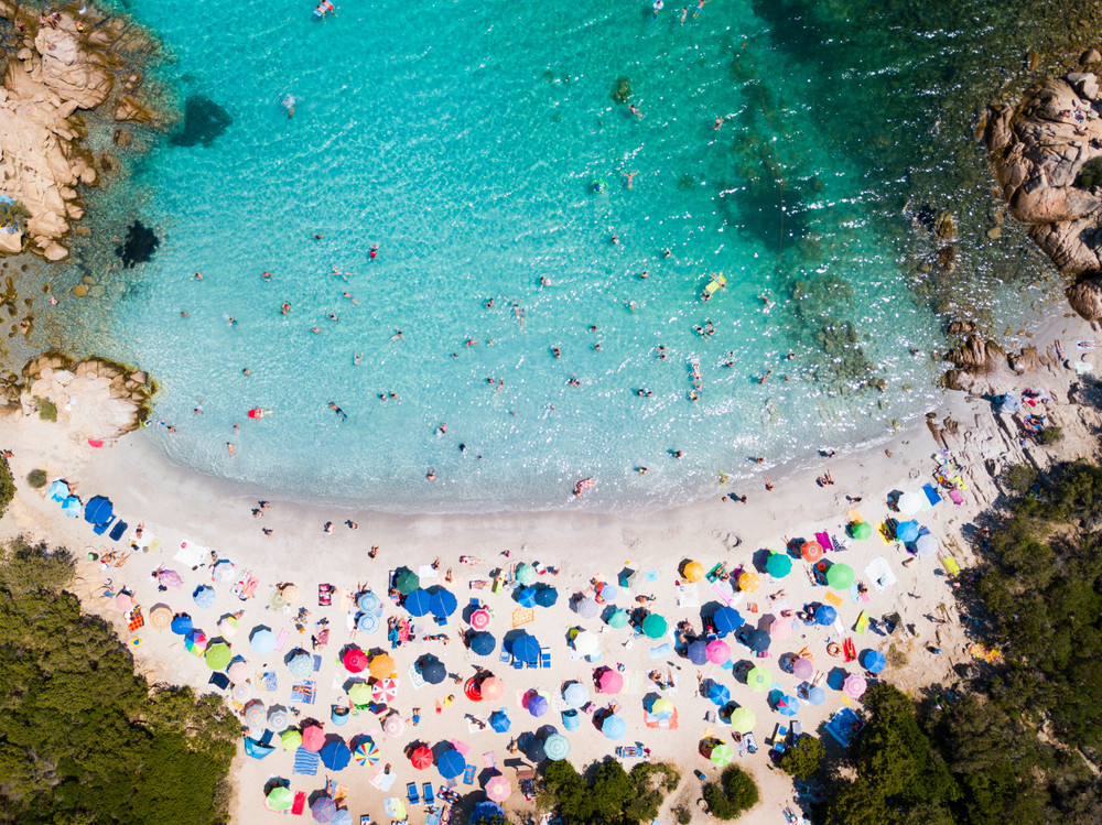 Costa Smeralda, Sardinia, Italy.