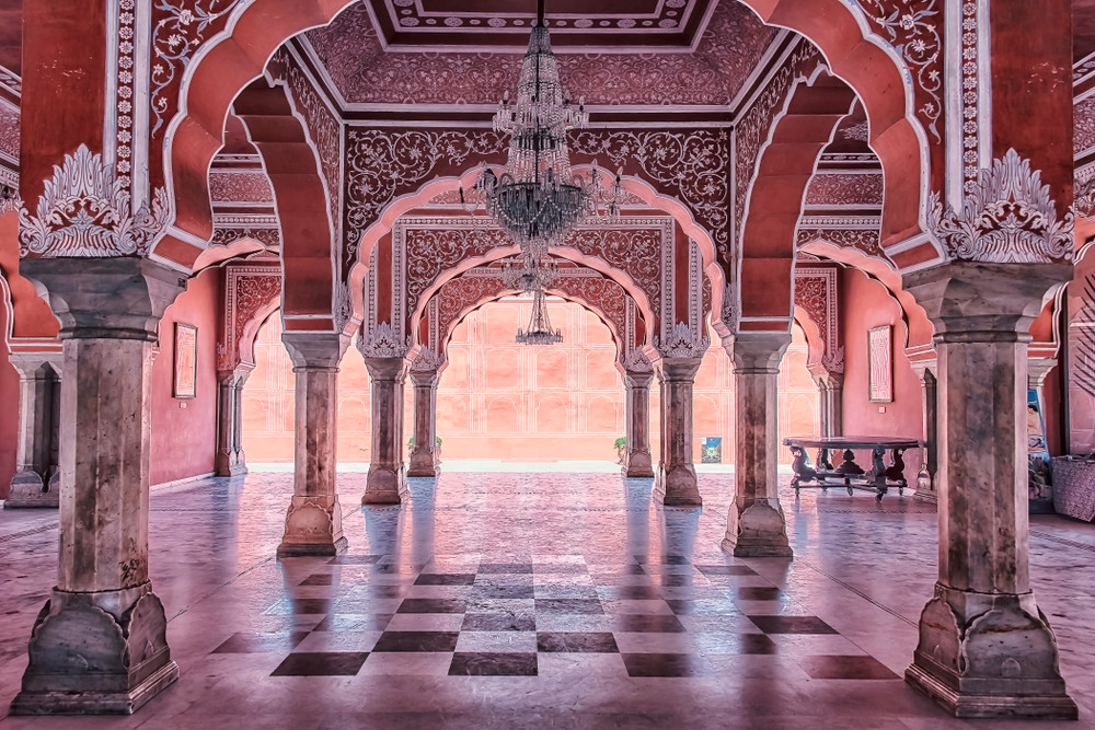 City Palace, Jaipur, India. manjik / Shutterstock.com
