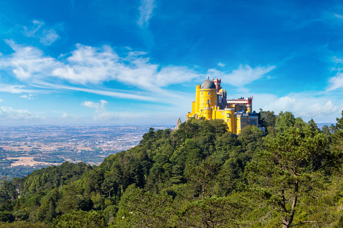 Park and National Palace of Pena, Sintra