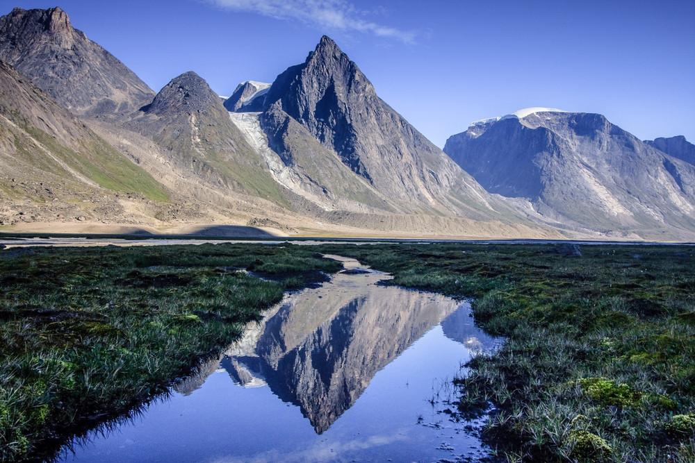 Akshayuk Pass, Auyuittuq National Park, Baffin Island, Canada