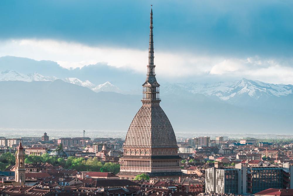 Mole Antonelliana, Turin, Italy.