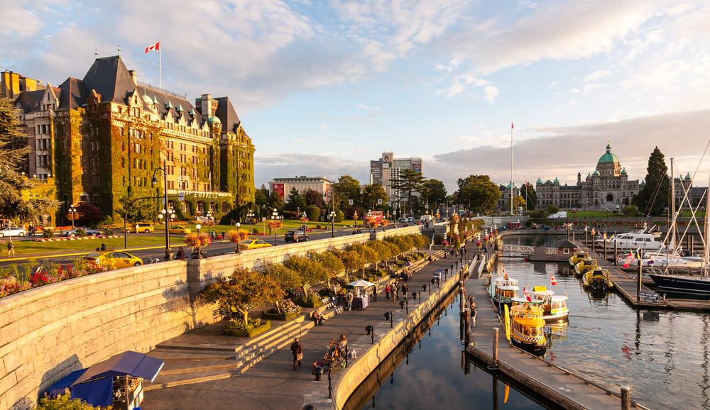 Victoria, British Colombia, Canada. androver/Shutterstock.com