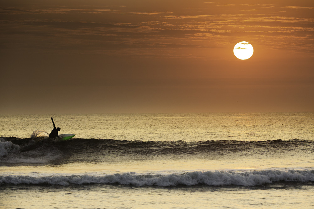 Surf in Peru.
