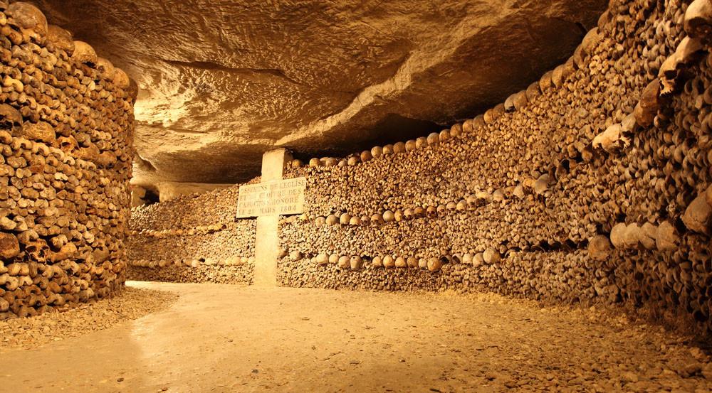 Paris Catacombs, Paris, France.