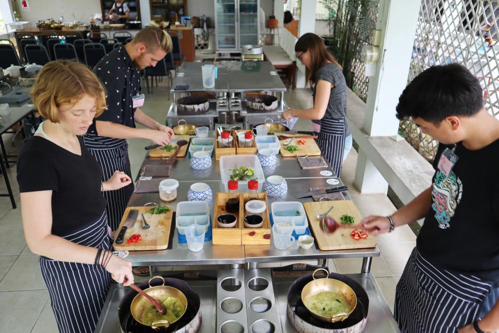 Thai Farm Cooking School, Chiang May, Thailand. Vasin Hirunwiwatwong/Shutterstock.com