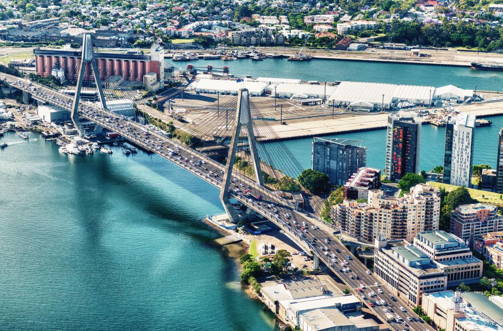 Anzac Bridge,