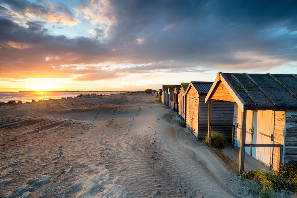 West Wittering beach, Chichester, UK.