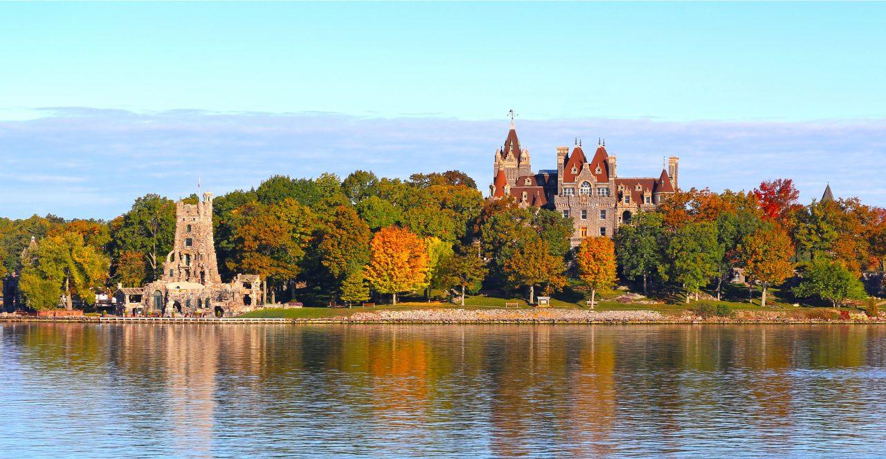 Boldt Castle property, Alexandra Bay, New York State.