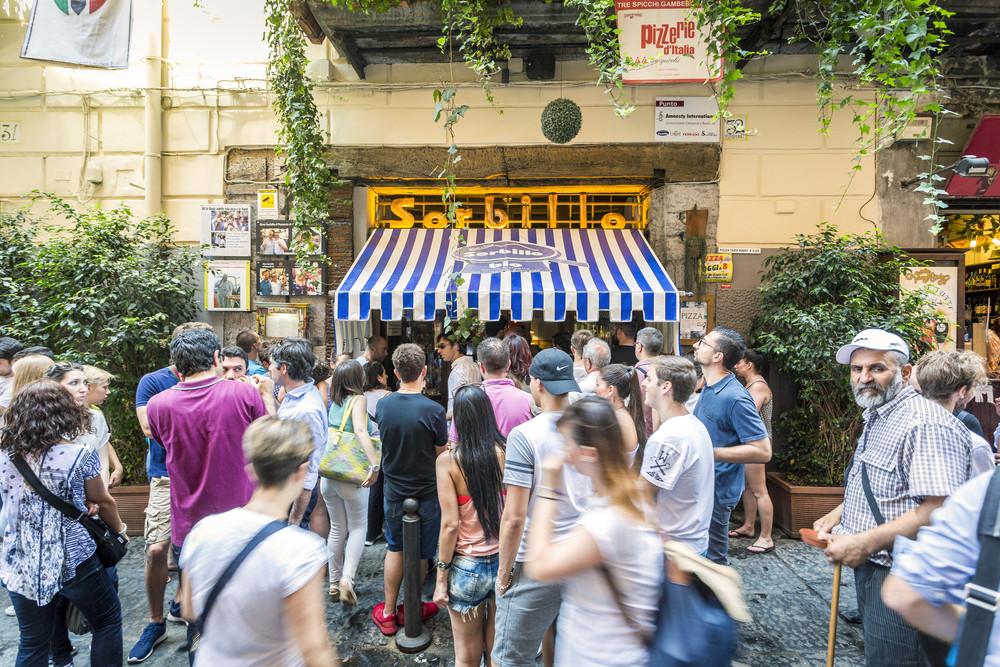 Gino Sorbillo Pizzeria, Naples, Italy.