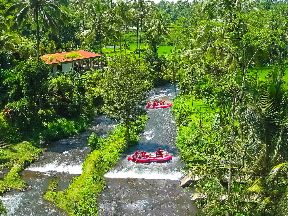 Rafting, Ayung River, Bali, Indonesia.