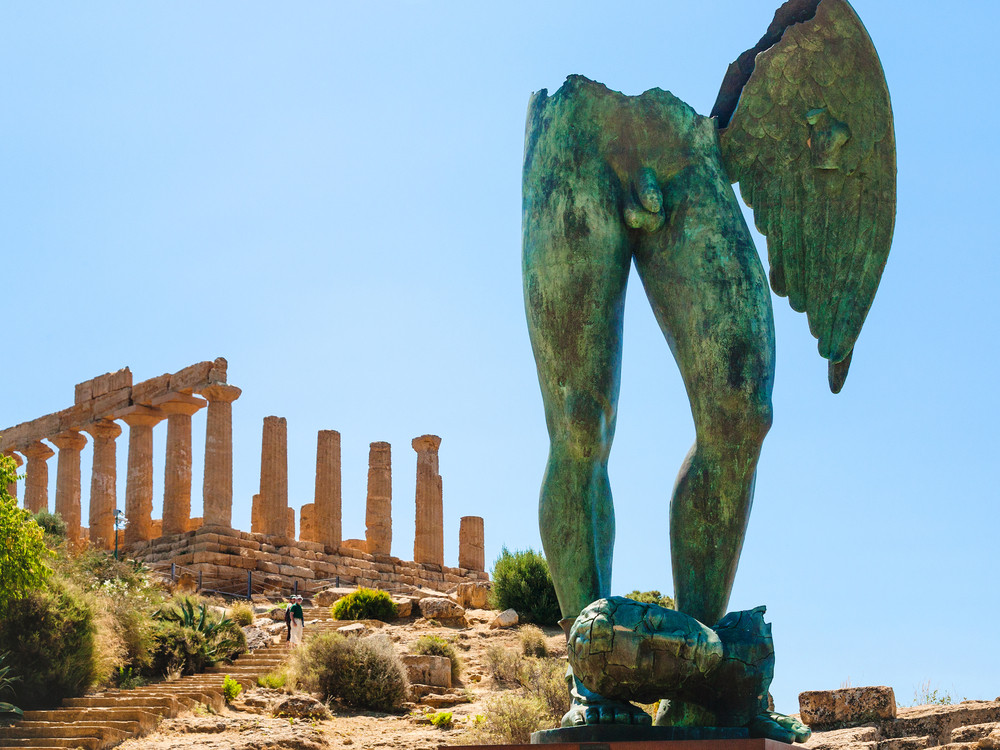 Valley of the Temples Sicily, Italy. vvoe / Shutterstock.com