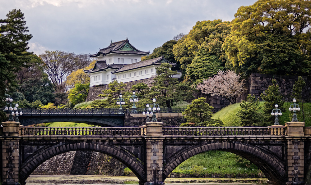 The Imperial Palace, Tokyo, Japan.