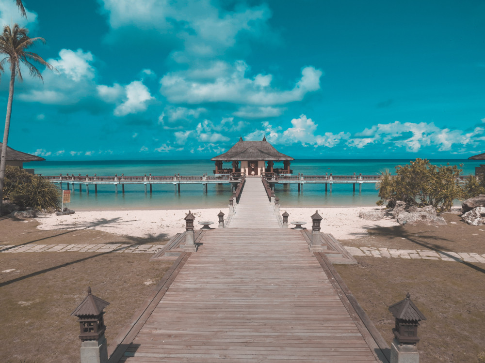 Nusa Dua, Bali, Indonesia.