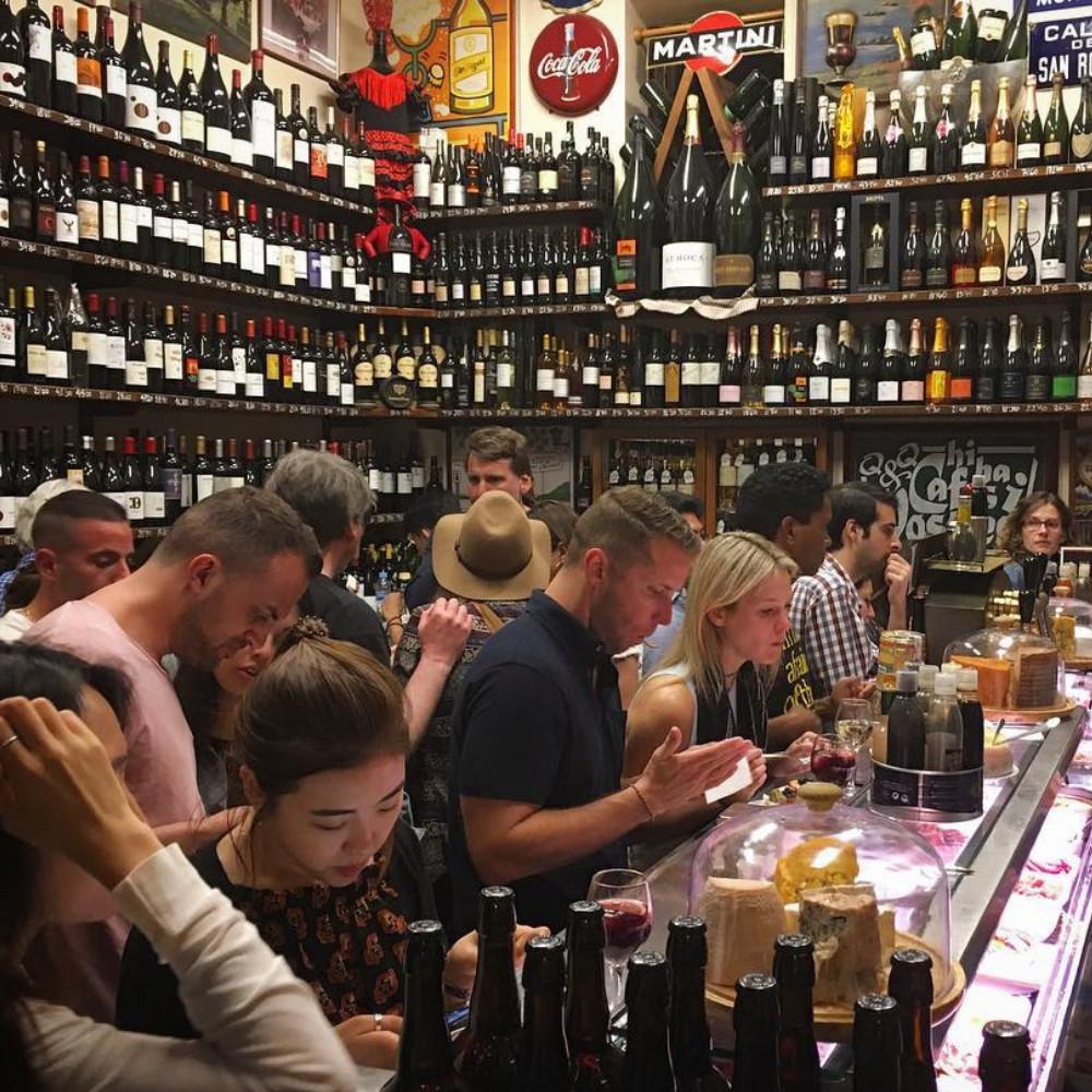 Quimet & Quimet, Barcelona, Spain. instagram.com/rjunginger