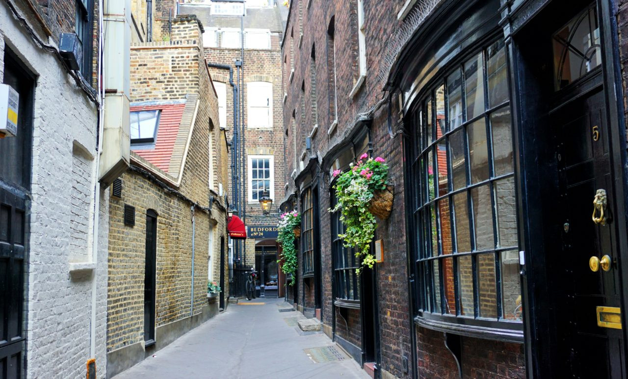 Godwin's Court, London, England