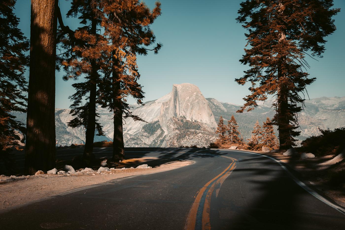 Glacier Point Road,