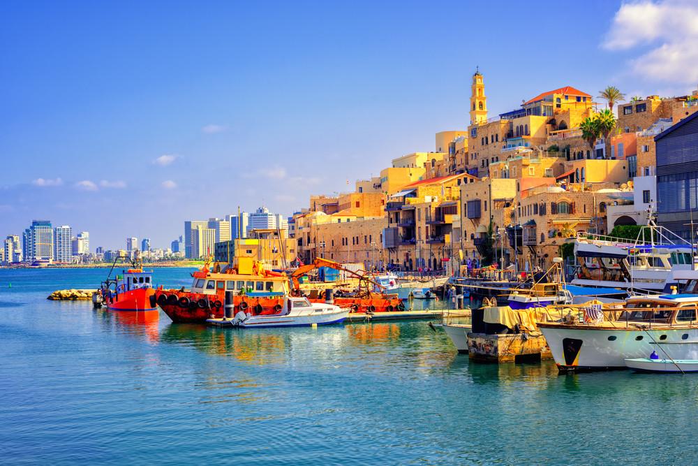 Jaffa Port, Old Jaffa, Israel.
